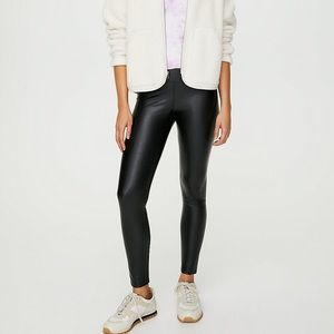 Wilfred free faux leather leggings